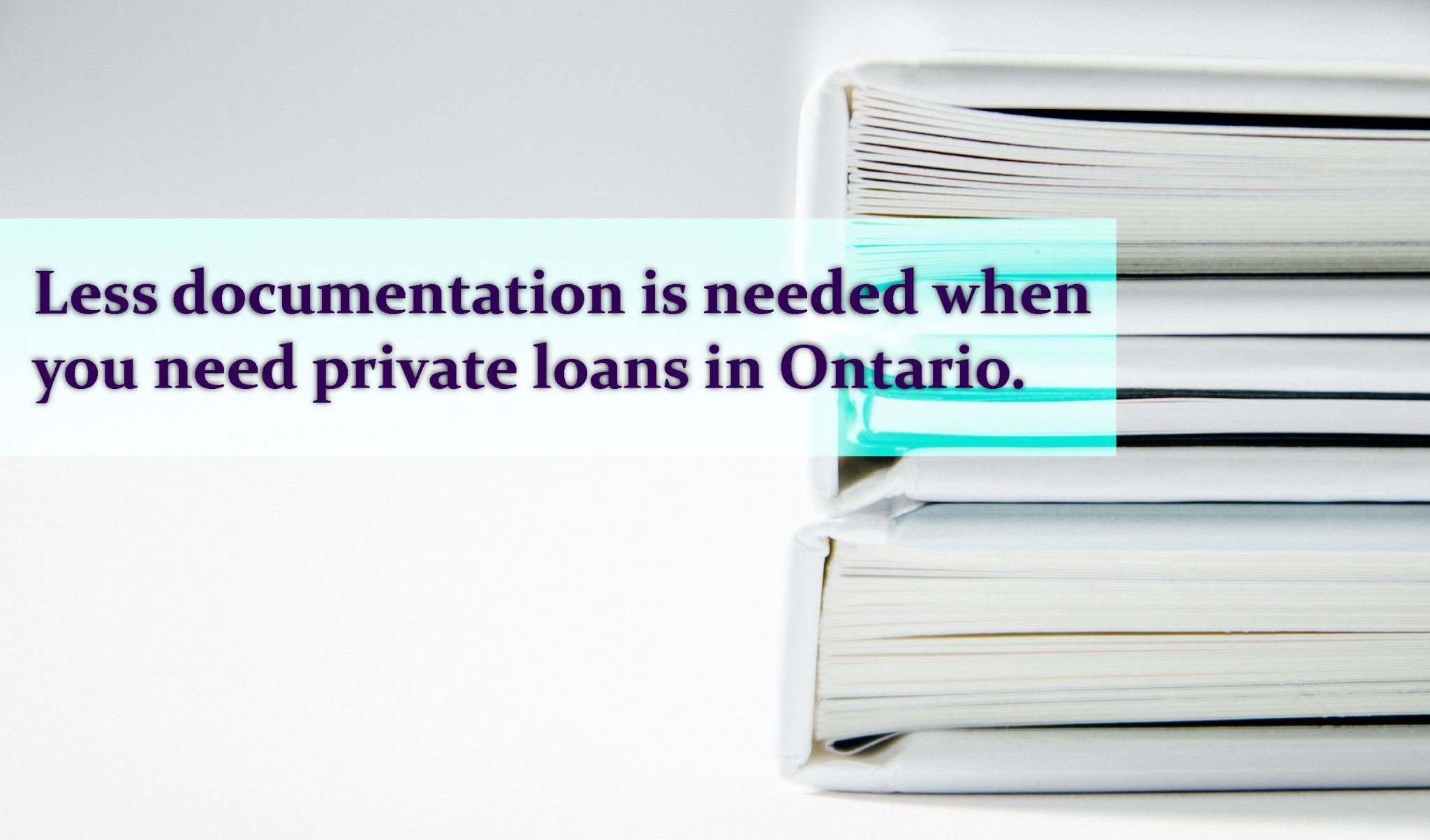 Private loans ontario